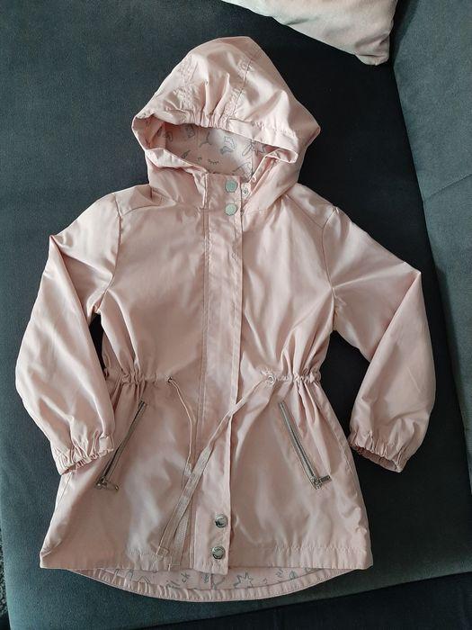 Reserved kurtka parka płaszczyk róż 110cm ortalion przeciwdeszczowa Kosakowo - image 1