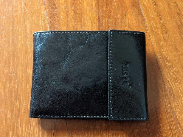 Carteira couro homem, porta moedas, porta documentos