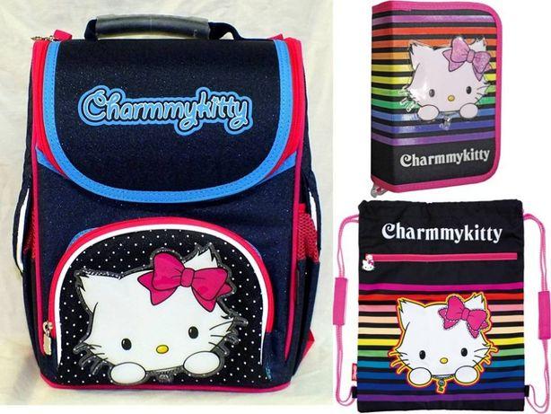 """Комплект """"Китти"""" ранец (рюкзак), пенал, сумка, девочки, новый, акция"""