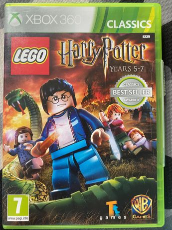 Harry Potter years 1-4, 5-7 Xbox 360