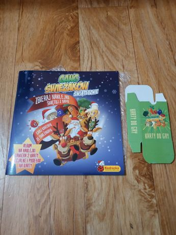 Super zwierzaki biedronka album cheetos tazo gang świerzaków karty