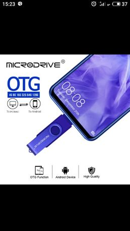 USB flash 64Gb+OTG+ type-c флешка
