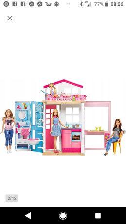 Dwupoziomowy domek dla dziewczynki barbie nowe wysyłka za darmo