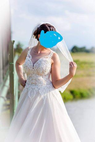 Suknia ślubna. Wyprana i gotowa.