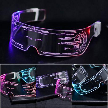 LED очки Очки для вечеринок Светящиеся очки #тусадвижрейв