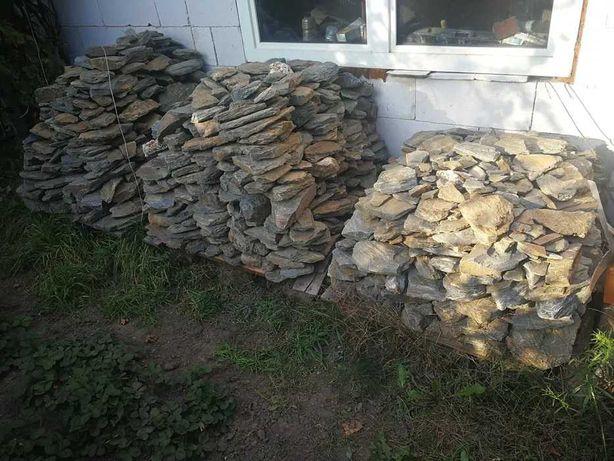 Łupek szarogłazowy gnejs kamień ogrodowy ozdobny tatrzański gabiony