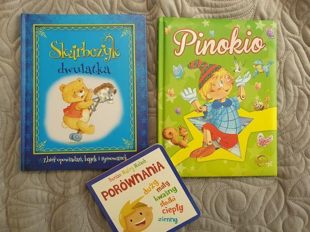 Książki dla dzieci: Skarbczyk Dwulatka , Pinokio
