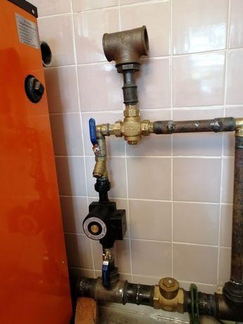 Установка отопления водоснабжения канализации