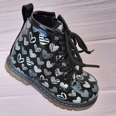 Черевички осінні демісезонні ботинки 21 22 23 24 26 деми осень осенние