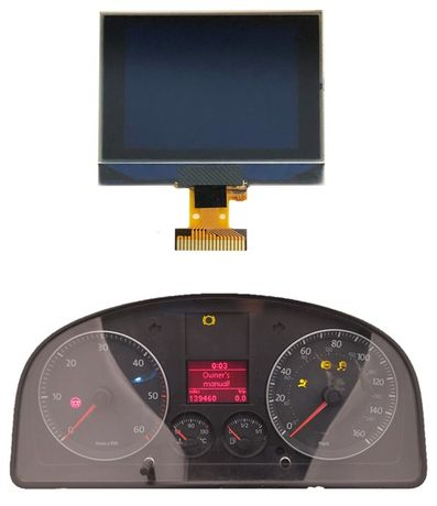 Display LCD Vw Golf V / Passat / touran / tiguan