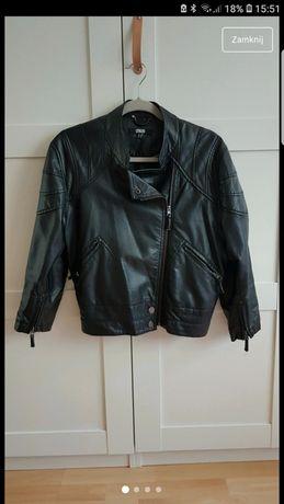 Kurtka skórzana Asos Zara 38 M UK 10 skóra biker vintage