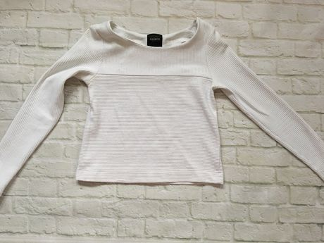 Reserved bluza crop top XS