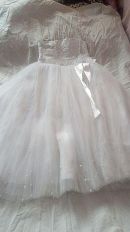 Платье бальное на девочку пышное, на утренник, новогоднее 146-164