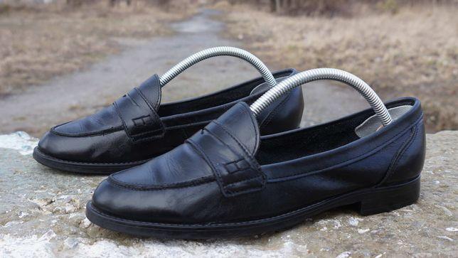 Шкіряні лофери, туфлі Schuh