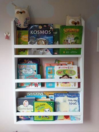 Nowa półka na książki biblioteczka dla dzieci