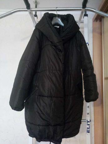 пальто , пуховик, куртка, оверсайз, зима, осень
