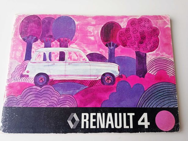 "Renault 4 L ""Manual de Instruções"""