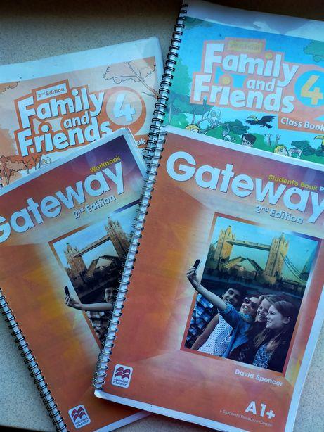 Учебники английского Oxford 4 и 6 класс workbook class student's book