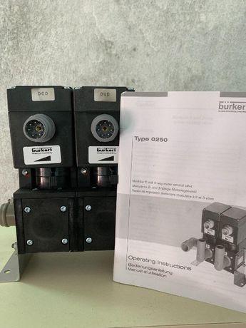 СРОЧНО!!!Продам электрокраны burkert mken-0250 двойной.