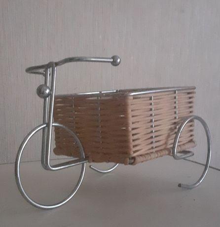 Корщинки для фруктов(конфет) велосипеды