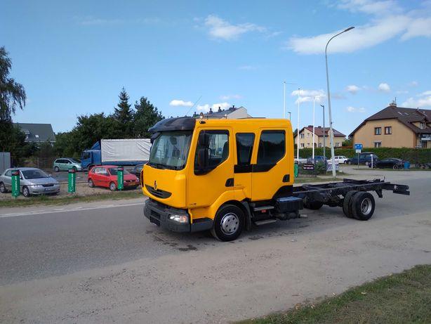 Renault midlum doka rama  wywrotka skrzynia