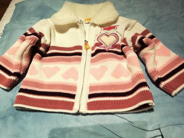 Sprzedam ciepły sweter firmy Kamiza 68-74Jak nowy.