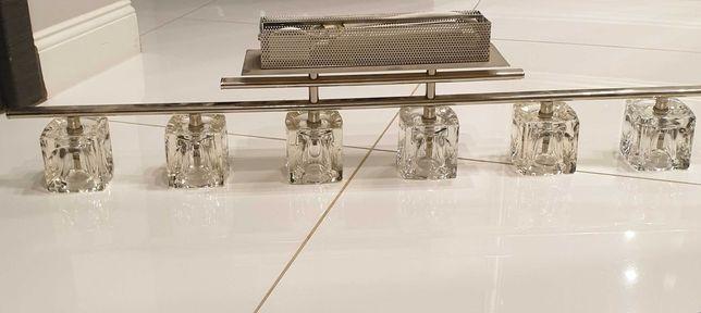 Lampa kryształ krysztalki żyrandol Italux