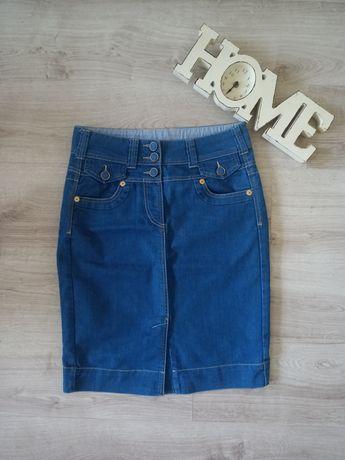 Spodnica jeansowa rozmiar L