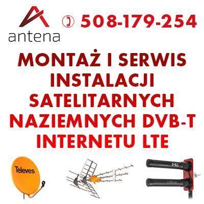 Montaż i serwis ANTEN :: Naziemne, Satelitarne, Internet LTE i GSM