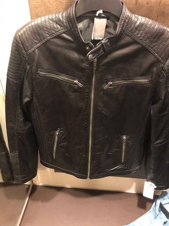Кожаная куртка AIM