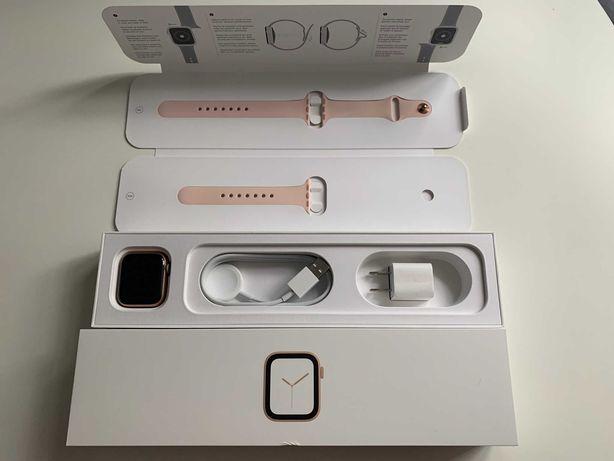 Смарт-часы Apple Watch Series 4 40mm Gold! Отличное состояние