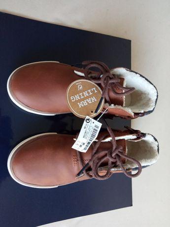 Nowe ocieplane buty