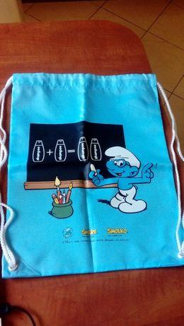 Worek/plecak Smerfy