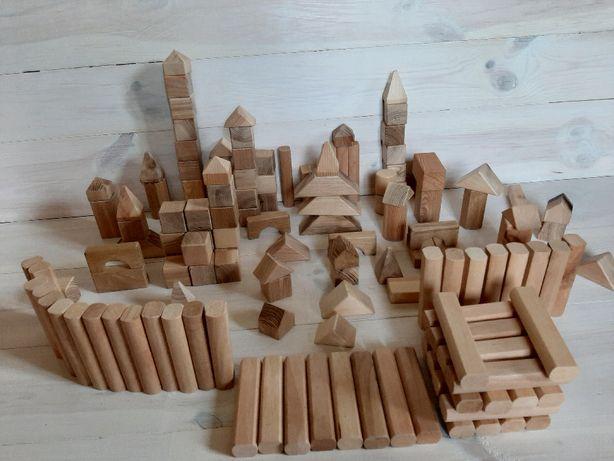 Класснючий деревянный конструктор 140 деталей