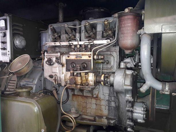 Генератор армійський дизельний на 10 кВт причепний двоколісний.