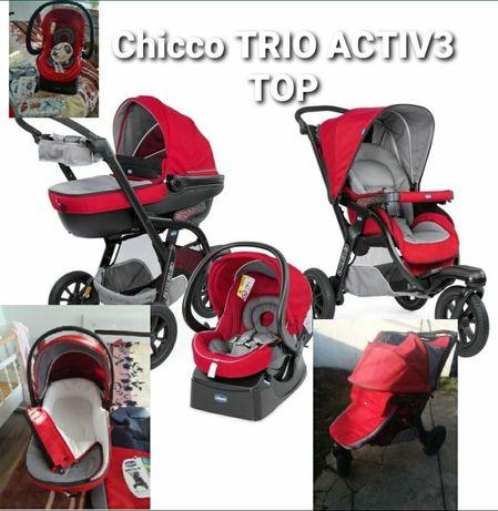 Коляска, візочок chicco active baby 3in1