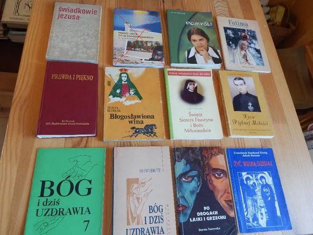 Książki religijne, eucharystyczne - 28 sztuk