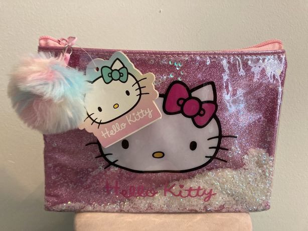 Fajny Nowy Piórnik kosmetyczka saszetka Hello Kitty