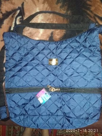 Сумка рюкзак новая тканевая 530 рублей