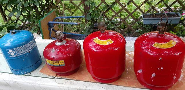 Butle gazowe turystyczne 3 i 2 kg
