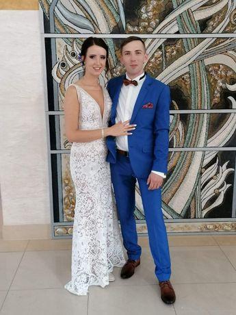 suknia ślubna / poprawinowa r 38