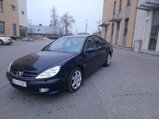 Peugeot 607 2.2 16V+GAZ 2003 rok Butla ważna 6 lat.