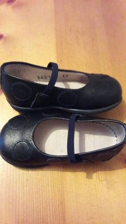 Sapatos em pele novos n;19