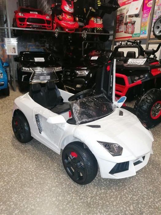 Samochód Lambo na akumulator dla dzieci Miękkie kołaEva Odbiór Wysyłka Trzebinia - image 1