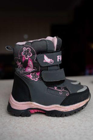 Ботинки Сапожки на девочку зимние