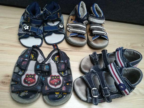 Sandały chłopiec rozmiar 22
