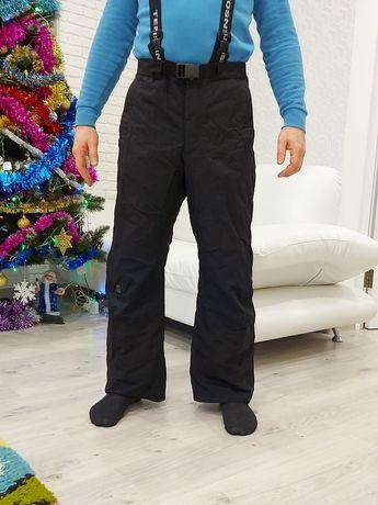 Лыжные штаны Tenson утепленные теплые термоштаны лижні