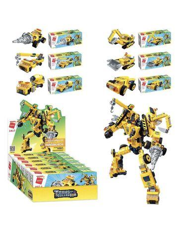 Детский конструктор трансформер Qman