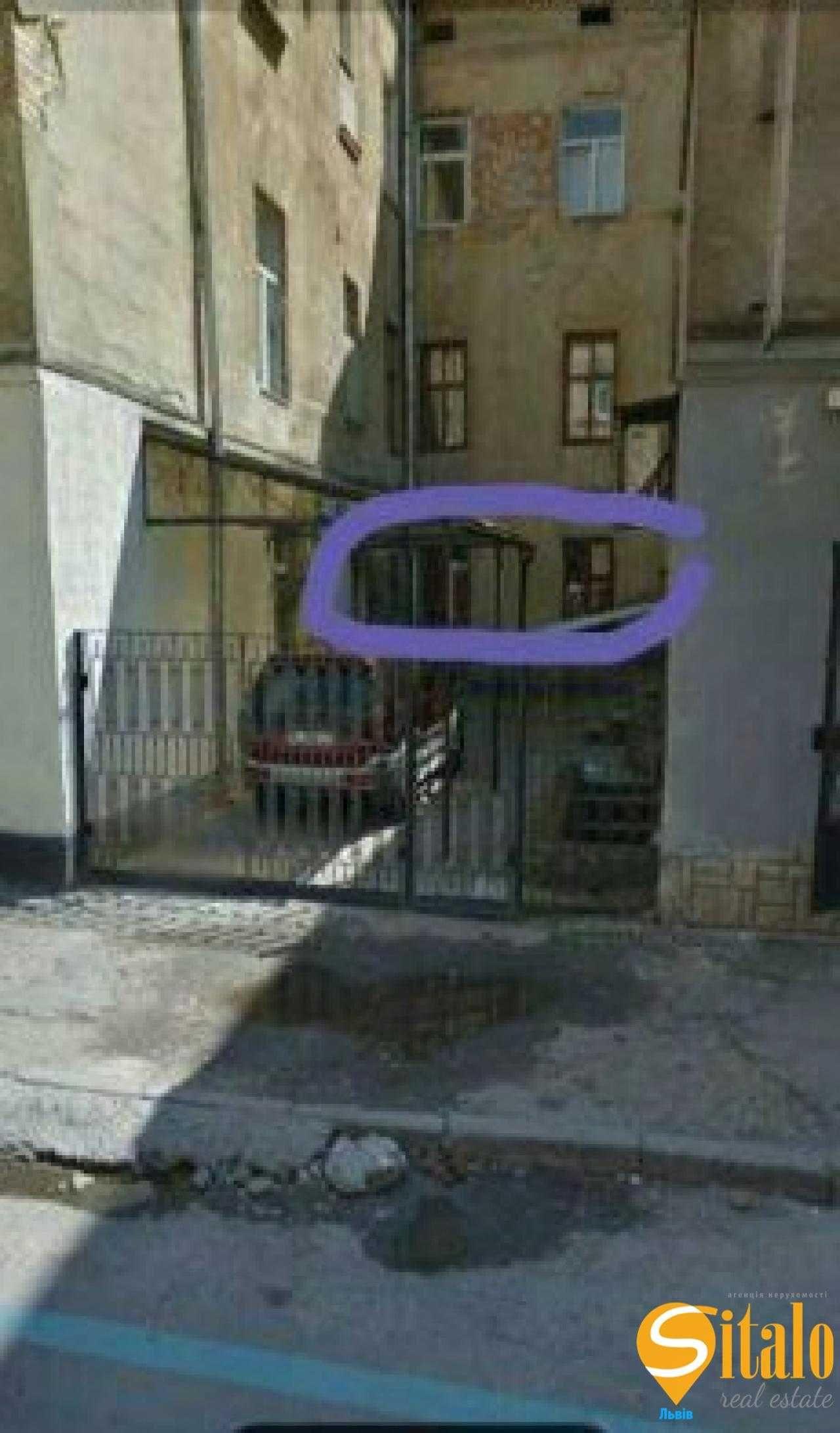 1 кімнатна квартира, Костомарова, центр, Львів