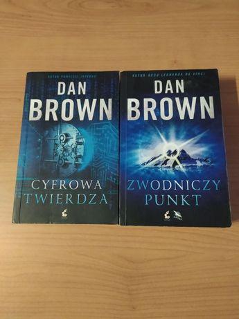 """Dan Brown ,,Zwodniczy punkt"""" + ,,Cyfrowa twierdza"""""""